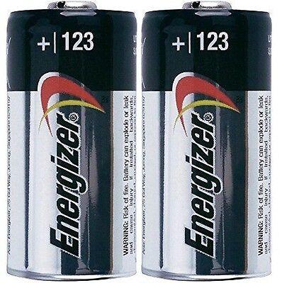 2 Energizer Cr123a Cr123 Cr 123 123A Lithium Battery   Exp 2027