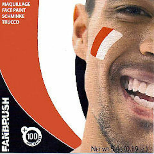 Flag Face Paint Poland Polska Red & White