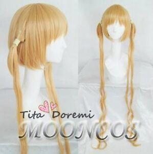 Halloween Wig Hair Cosplay Karneval blonde long party fashion Anime Wigs
