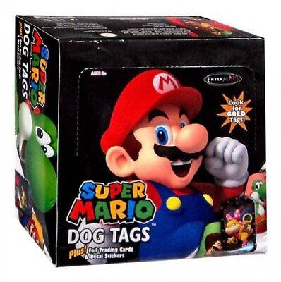 Super Mario Dog Tag Fun Pack Box