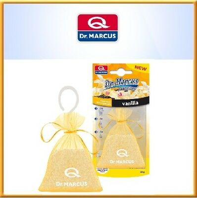 2x Dr.marcus Hanging Fresh Bag Car Air Freshener Perfume Vanilla Image