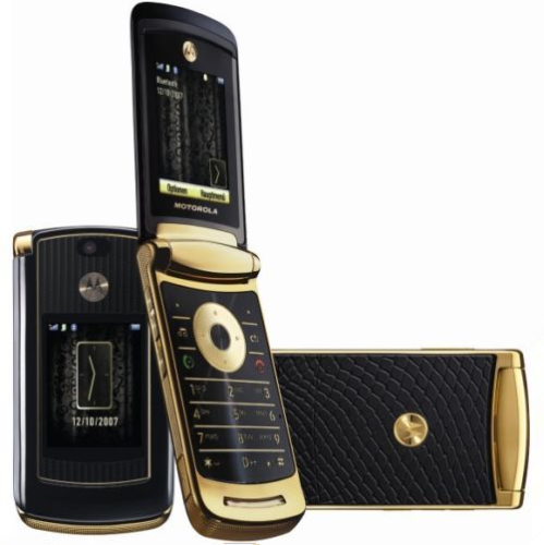 $35.00 - Motorola MOTORAZR2 V8 Unlocked 512MB Luxury Edition Gold Cellphone Refurbished