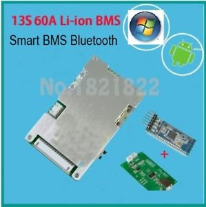 BMS BLUETOOTH 48V-13S-60A WITH  WINDOWS AND ANDROID APPS