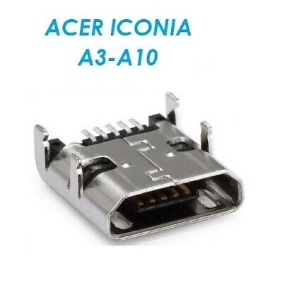 New Acer ICONIA A3-A10 Micro USB DC Charging Socket Port Connector A3