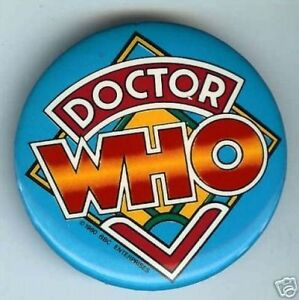 Stunning-colorful-DOCTOR-WHO-1980-dated-BBC-pin