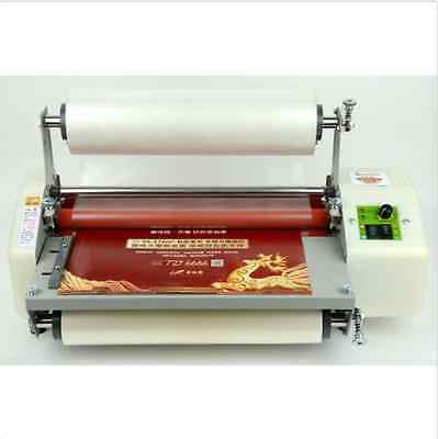 Latest Version 13 Four Rollers Hot And Cold Roll Laminating Machine Bi