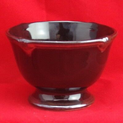 Certified International Embassy Black Personal Ice Cream Bowl