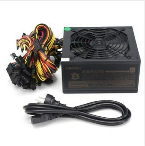 NEW / 90 Plus GOLD 1600W Power Supply For Mining