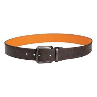 Neu Cabelas Herren Doppelseitig Ledergürtel Größe 48 Braun / Blaze Orange __ S76 ()
