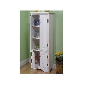 Extra tall pine cabinet storage bathroom bath kitchen room for Extra kitchen storage