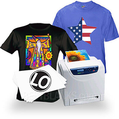 Laser Iron-on Heat Transfer Paper - For Darks 100 Neenah Laser 1 Opaque Lo-8