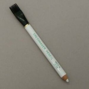 1 x DRESSMAKER CHALK MARKING PENCIL WHITE