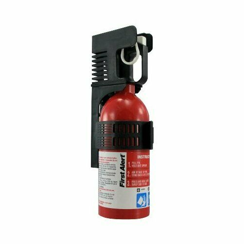 First Alert Automotive Fire Extinguisher with Automobile Mounting Bracket