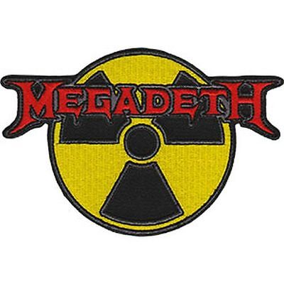 MEGADETH - RADIOACTIVE - EMBROIDERED PATCH - BRAND NEW - 4249