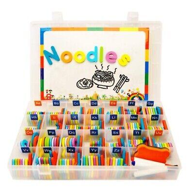 Alphabet Magnets, Magnetic Letters for Kids(Multicolor, 208pcs), ABC educational