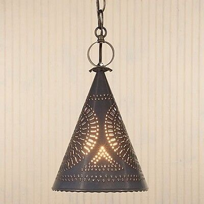 STURBRIDGE WITCH'S HAT/PRIMITIVE HANGING PENDANT CEILING LIGHT