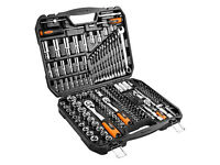 "NEO Drive Metric Socket Wrench Set 1/4"", 3/8"" and 1/2"" 219 pcs (08-671)"