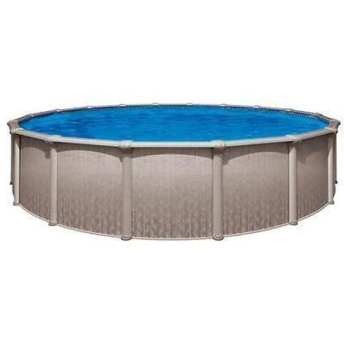 Sharkline heritage 18 39 round x 54 above ground swimming pool ebay for Heritage above ground swimming pools