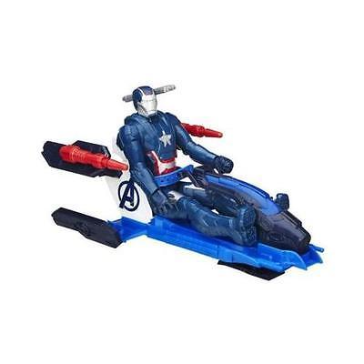 Marvel Avengers Titan Hero Series Iron Patriot With Arc Thruster Jet Vehicle