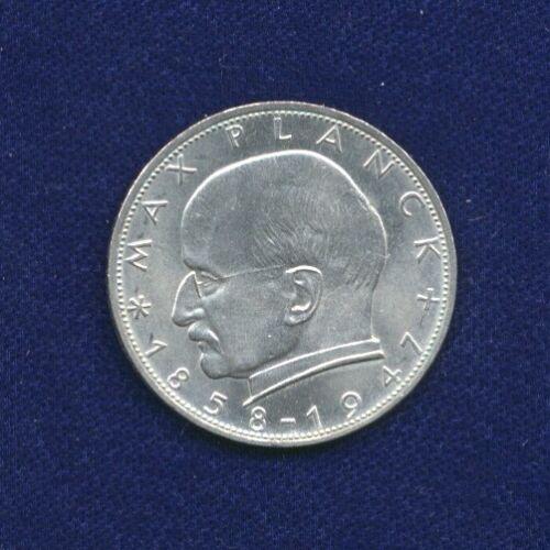 GERMANY  1963-F   2 MARK COIN, NEAR-BRILLIANT UNCIRCULATED