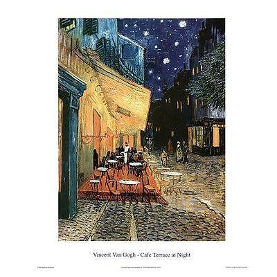 CAFE TERRACE AT NIGHT - VAN GOGH ART POSTER - 16x20 PRINT 16075