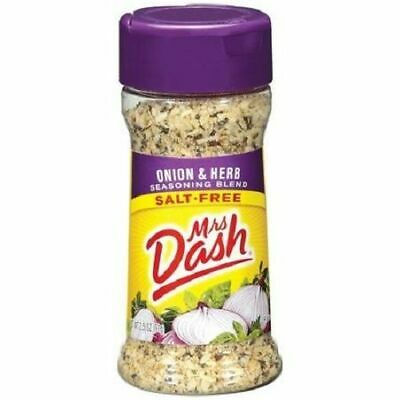 Mrs Dash Onion & Herb Salt-Free Seasoning Blend Herb Salt Free Seasoning