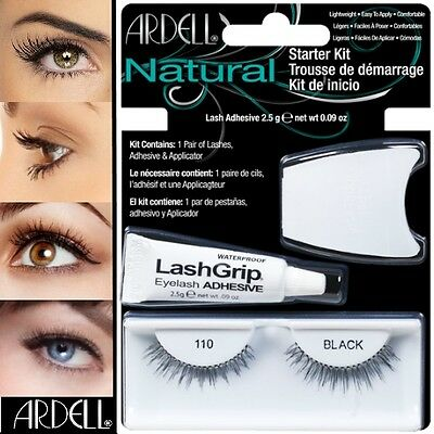 Ardell Fashion Wimpern (Ardell Fashion Lash Falsche Wimpern Eyelashes Starter Kit #110)