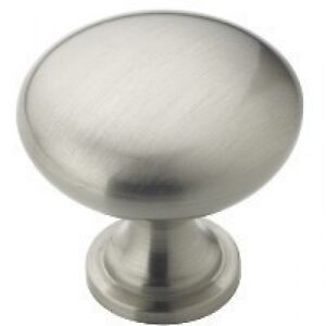 Satin Nickel Cabinet Cupboard Door Knob Pull Amerock BP53005-G10 25+ SHIP FREE