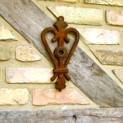 Maueranker Wandanker für Sparren Pfettenanker Wand Ornament, Herzkrone wie antik