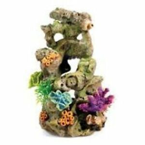 Aquarium biorb 60 litre fish tank coral on lava ornament for Decoration aquarium 60 litres