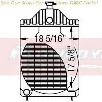 A39344 A35604 Radiator For Case 430ck 480b 480ck 530ck 580b Wo Oil Cooler Ftg