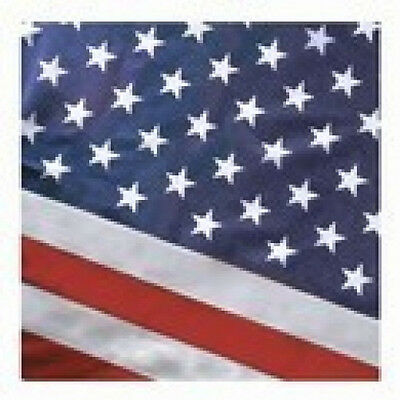 2.5x4 FT US American Flag Pole Sleeve Banner Style Valley Fo