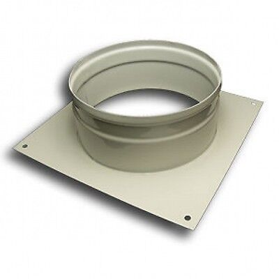 "Ducting Wall Plate Spigot Hydroponic Grow Room Ventilation 4 5 6 8 10 & 12"" dia"