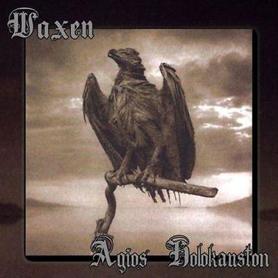 Waxen   Agios Holokauston Cd 2014 Black Metal Tony Knapp Moribund Records