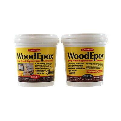 2 Part A B - 6 Ounces Each Wood Epoxy Kit