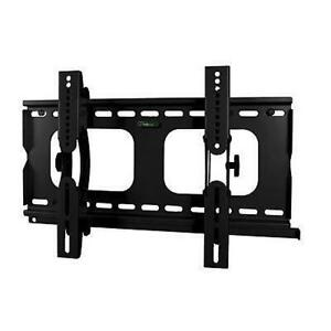 Lloytron-T302S-Flat-Screen-TV-Wall-Mount-23-37-Tilt-Vesa-75-100-200-Black-Steel