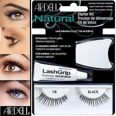 Ardell Fashion Wimpern (Ardell Fashion Lash Falsche Wimpern Eyelashes Starter Kit #116)