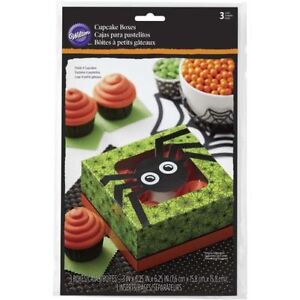 Wilton Spider Cupcake Boxes – Package of Two