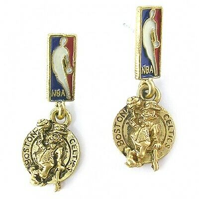 NBA Earrings Boston Celtics Gold Jewelry NEW Boston Celtics Jewelry