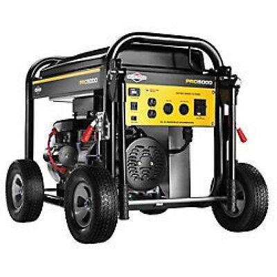 Briggs Stratton 5000 Watt Pro Series Portable Generator Es 30554