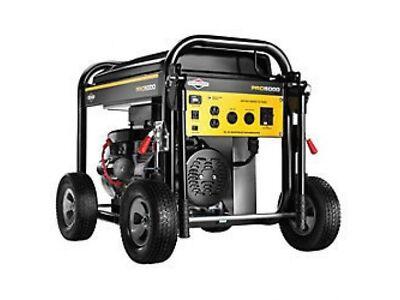 Briggs & Stratton 5000 Watt Pro Series Transportable Generator ES #30554