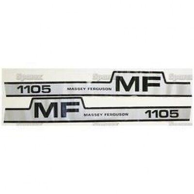 New Massey Ferguson 1105 Hump Decal Set