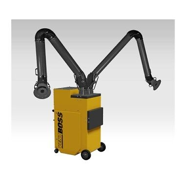 Ventboss Portable Fume Extractor With 2 6 X 10 Fume Arms S121