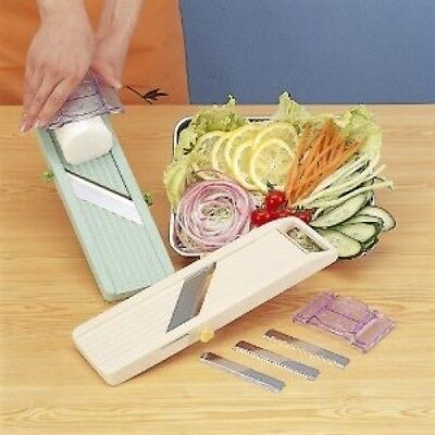 "Vegetable adjustable slicer "" Benriner "" Japanese Mandoline"