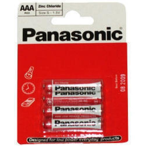 Panasonic AAA Standard Non Rechargable Size Battery x 4