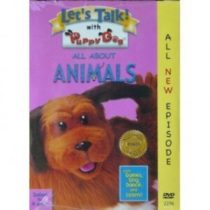NEW-LETS-TALK-ALL-ABOUT-ANIMALS-DVD-PRESCHOOL-EDUCATIONAL-LEARNING-TODDLER