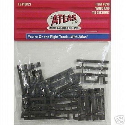 Flex Track End Ties - Atlas #598  Code 83 Flex Track End Ties - HO Scale