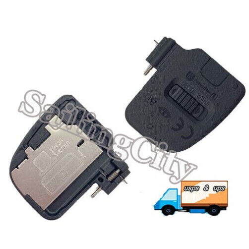 Replacement For Sony Alpha A6000 A6100 ILCE-6000 Cameras Battery Door Cover Lid