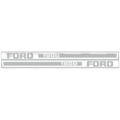 New Ford 1900 Hood Decal Set