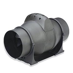 Powerful Inline Bathroom Extractor Fan 4 Inch With Timer Loft Ventilation Ebay